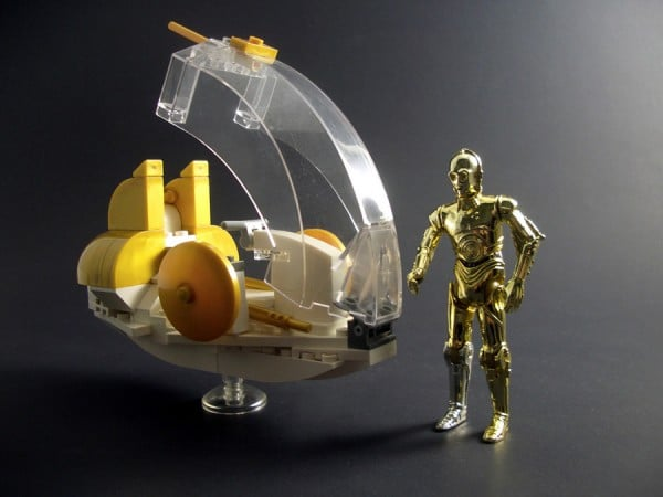 Protocol Droid Pod par Omar Ovalle
