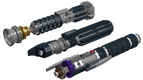 Star Wars Lightsabers (LDD) par Scott Peterson