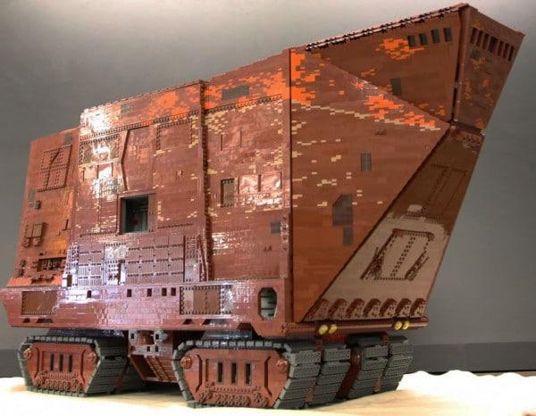 LEGOLAND California - LEGO Star Wars SandCrawler - Erik Varszegi