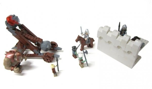LEGO Lord of the Rings - Siege of Gondor par Masked Builder