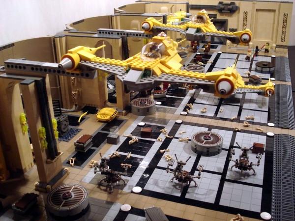 Theed Hangar Battle par ACPin