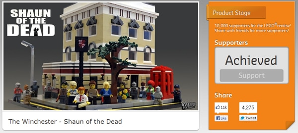 LEGO Cuusoo - The Winchester (Shaun of the Dead)