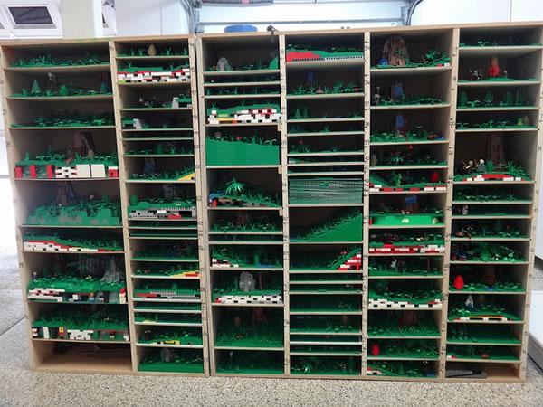 Brickplumber Endor Diorama - Packing Box