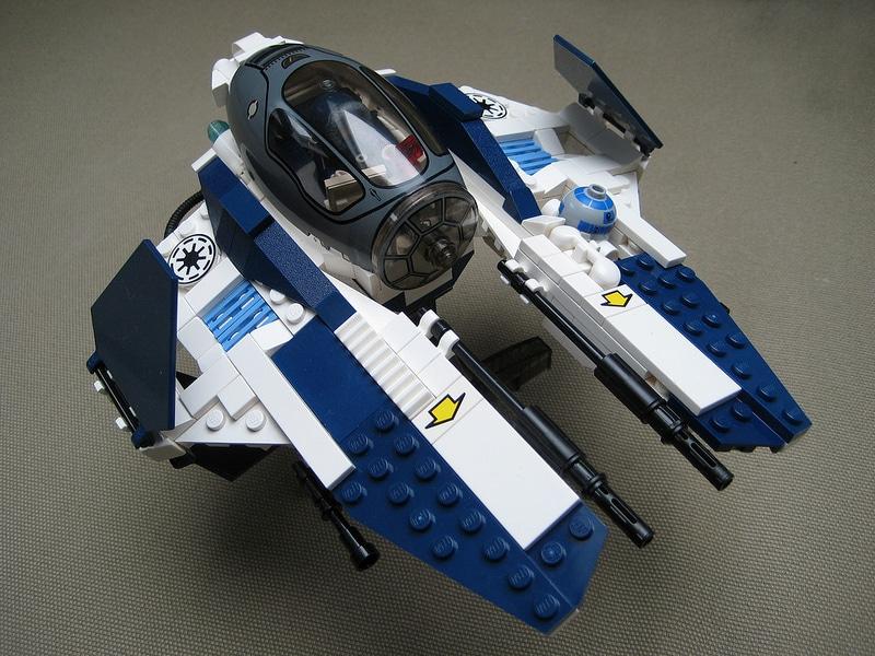Obi Wan Kenobi Starfighter Lego Instructions
