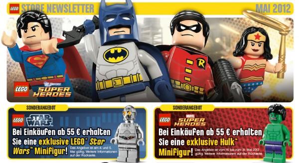 LEGO Store Calendar May 2012 DE