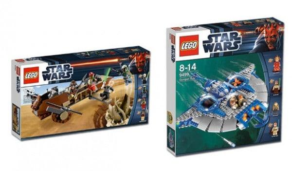 LEGO Star Wars 9496 Desert Skiff & 9499 Gungan Sub
