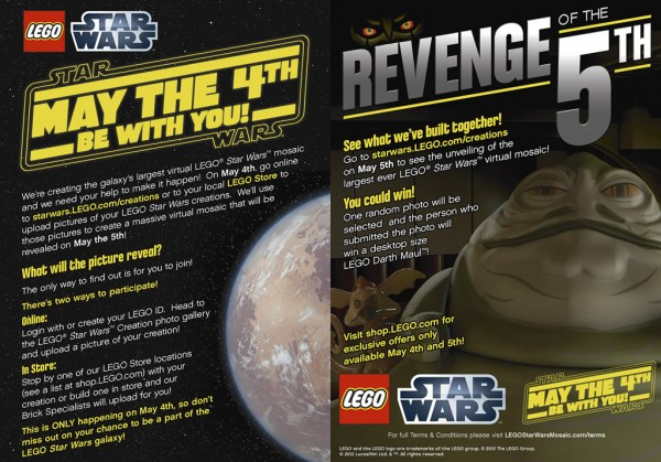 May the 4th be with you - Revenge of the 5th