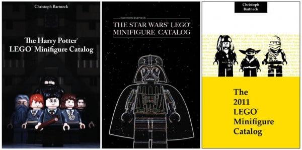 The Harry Potter Lego Minifigure Catalog, The Star Wars Lego Minifigure Catalog & The 2011 LEGO Minifigure Catalog