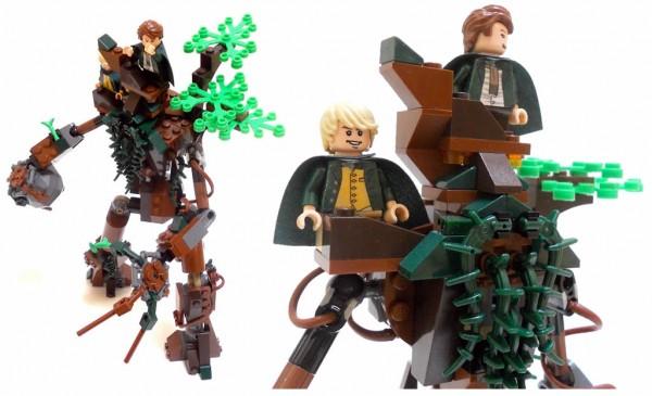 Nuju Metru - LEGO Lord of the Rings - TreeBeard Encounter