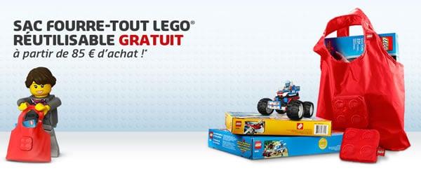 Le sac fourre-tout LEGO à 85 €