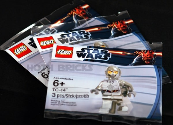 LEGO Star Wars - TC-14 Chrome Silver Exclusive Minifig