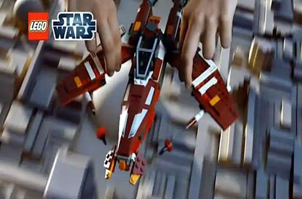 Star Wars The Old Republic : 9500 Sith Fury-Class Interceptor & 9497 Republic Striker-Class Starfighter