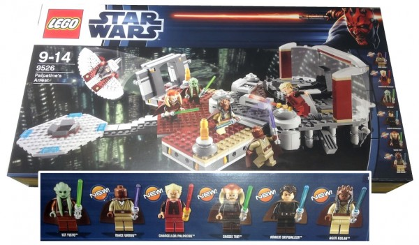 LEGO Star Wars 9526 Palpatine's Arrest