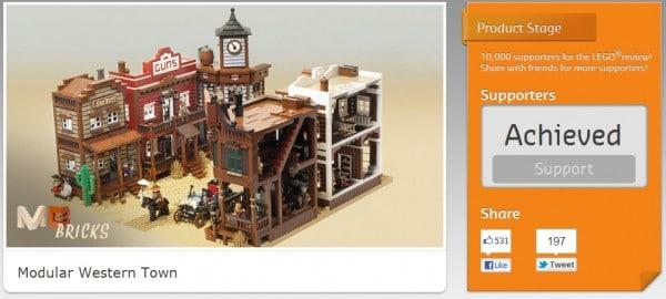 LEGO Cuusoo - Modular Western Town