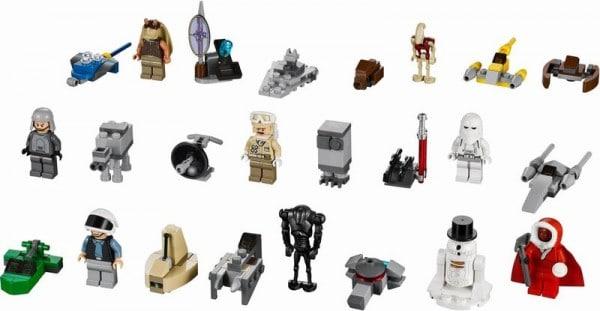 9509 LEGO Star Wars Advent Calendar 2012