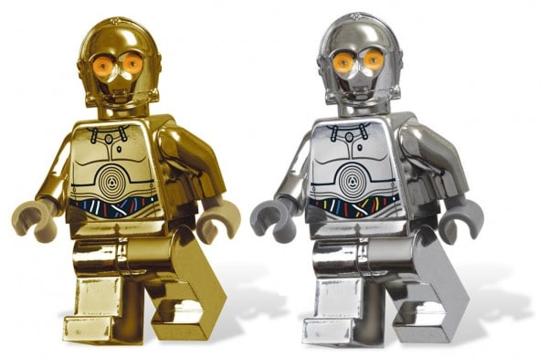 Chrome Gold C-3PO (Photoshop) par Praiter Yed & 6005192 TC-14 Exclusive Minifig
