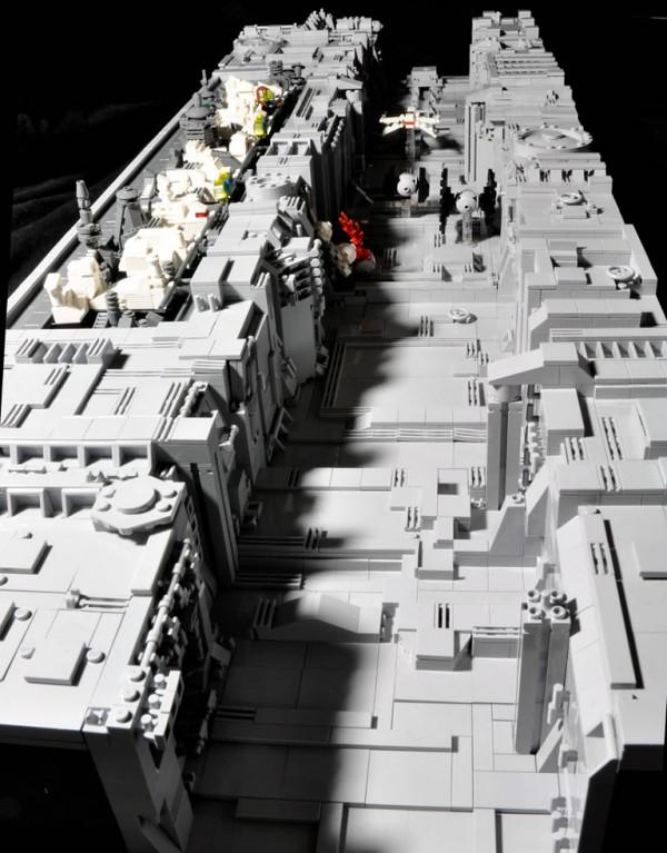 Death Star Trench par Si-MOCs
