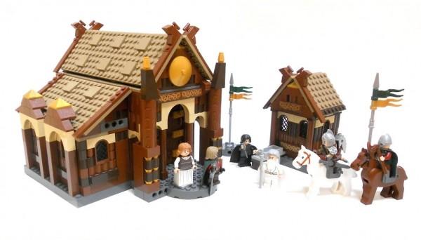 LEGO Lord of the Rings - Edoras par Nuju Metru