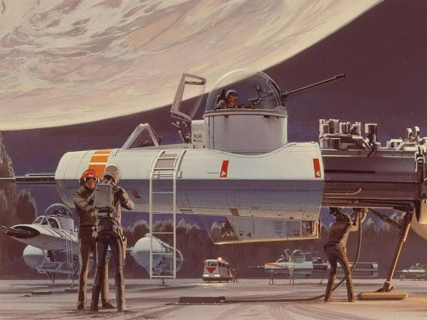 Ralph McQuarrie's Y-Wing