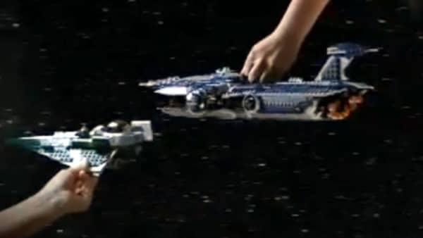 9515 Malevolence & 9498 Saesee Tiin's Starfighter