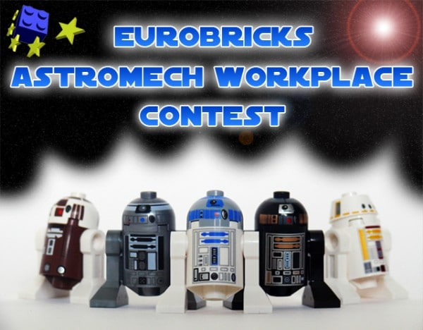 Eurobricks Astromech Workplace Contest