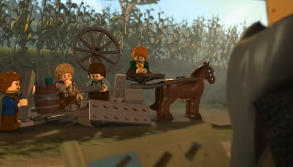 Lego The Lord of the Rings - Chapter 1: The Tale Begins
