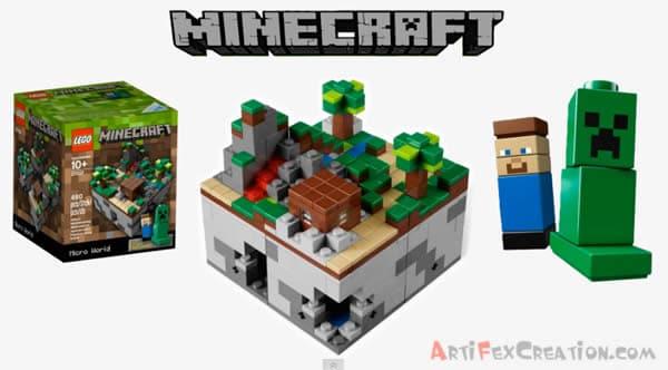 Artifex Review : 21102 LEGO Minecraft