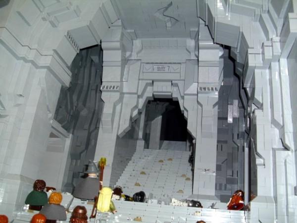 The Westgate of Moria by Elander