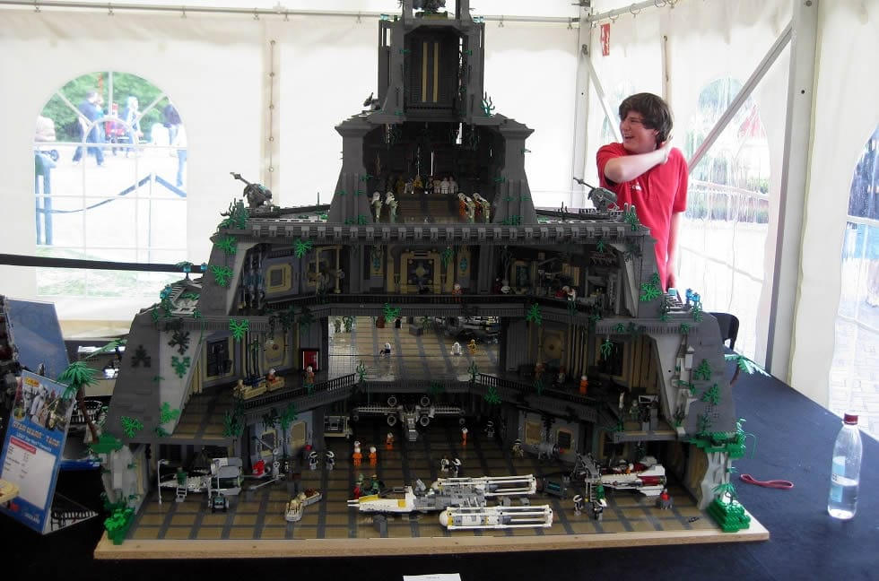 Hoth bricks for Interieur vaisseau star wars
