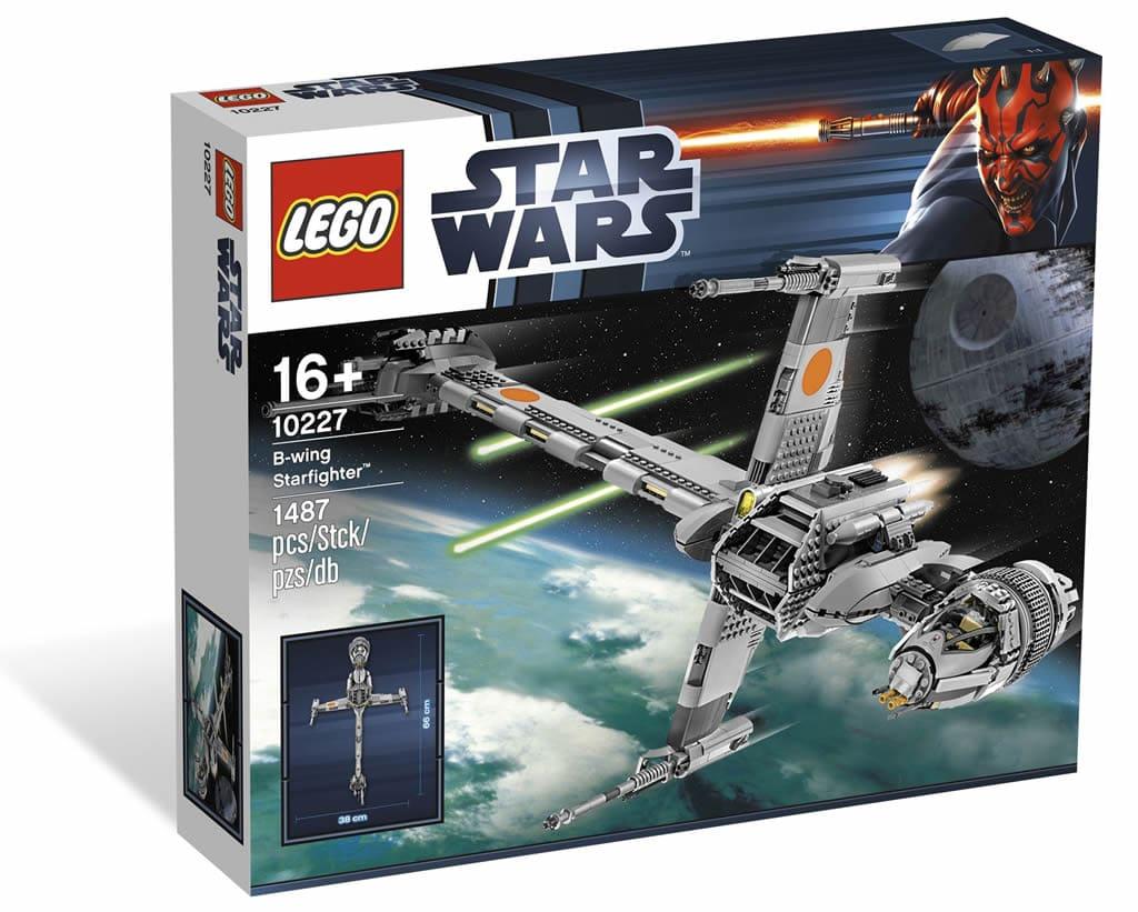 Build It Again Lego B Wing