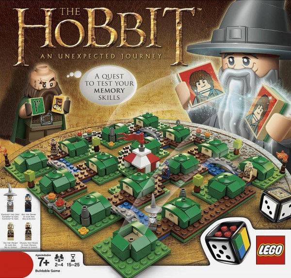 3920 LEGO The Hobbit Board Game