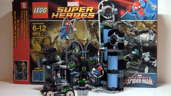 6873 Spider-Man's Doc Ock Ambush