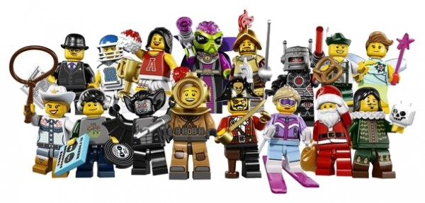 8833 LEGO Collectible Minifigures Series 8