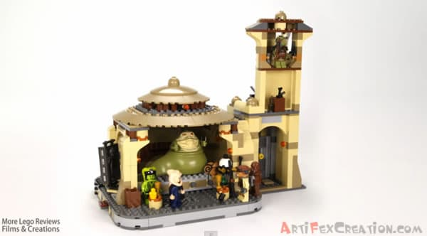 9516 Jabba's Palace - Review par Artifex