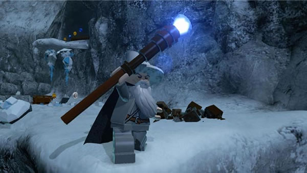 LEGO Lord of the Rings Video Game - Gandalf The Grey