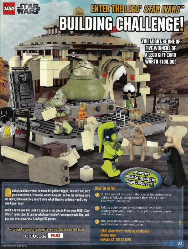 LEGO Club Magazine (USA) - LEGO Star Wars Building Challenge