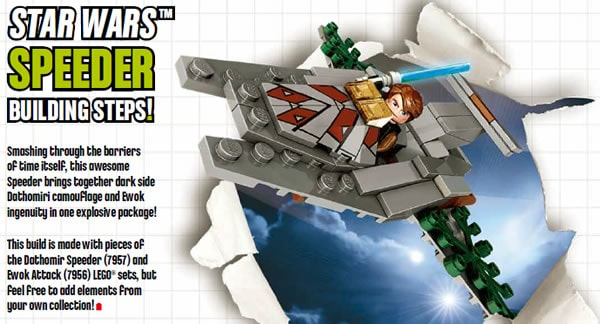 LEGO Club - Build a STAR WARS™ Speeder !
