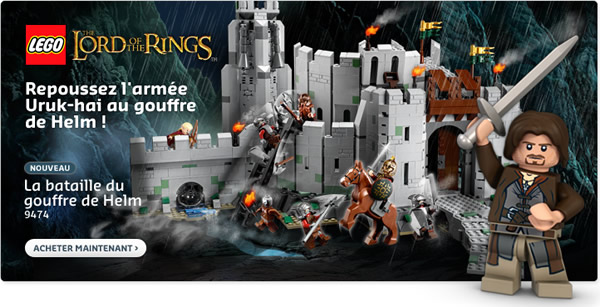 LEGO Lord of the Rings @ LEGO Shop