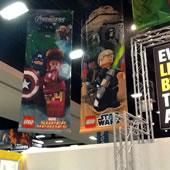 LEGO Stand @ San Diego Comic Con 2012