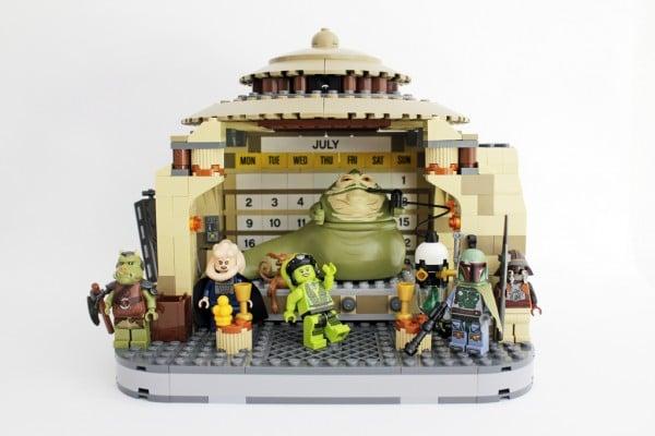 Jabba's Palace July Calendar by Pedro Vezini