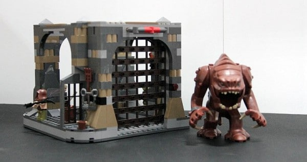 SDCC 2012 - LEGO Star Wars Rancor Pit