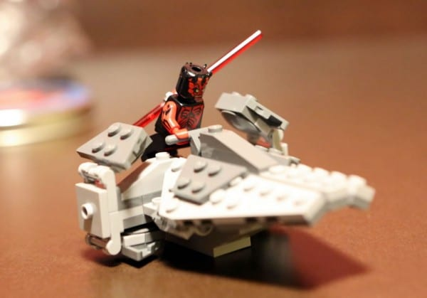 San Diego Comic Con 2012 -  LEGO Star Wars : Darth Maul's Mini Sith Infiltrator (Crédits Photo FBTB)