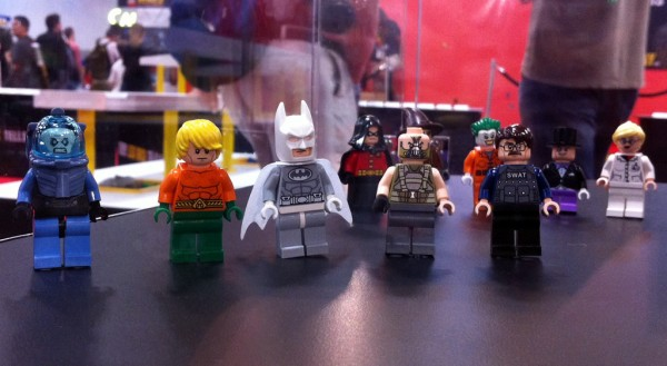 SDCC 2012 - LEGO Super Heroes DC Universe Minifigs