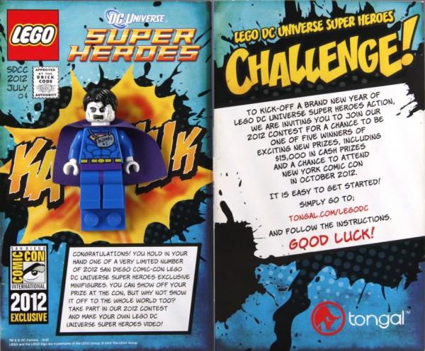 SDCC 2012 - LEGO Super Heroes DC Exclusive Minifig - Bizarro
