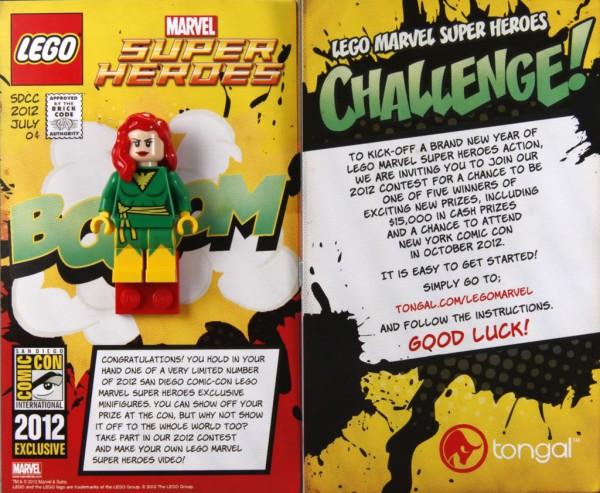 SDCC 2012 - LEGO Super Heroes Marvel Exclusive Minifig - Phoenix