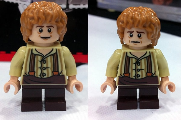 SDCC 29012 - LEGO Lord of the Rings & LEGO The Hobbit - Bilbo Baggins