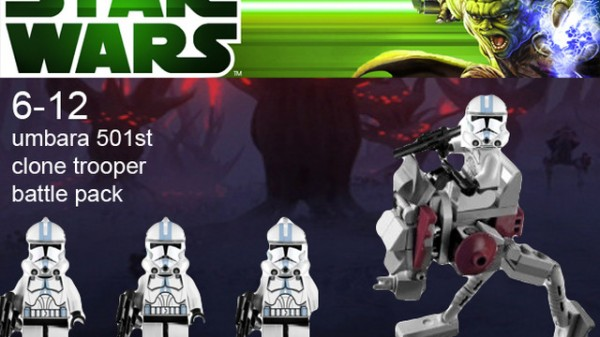 LEGO Cuusoo - Star Wars Season 4 Phase 2 Clone Battle Packs - NOT 2013 Official Product