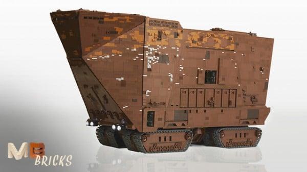 LEGO Cuusoo - Sandcrawler