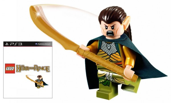 LEGO Lord of the Rings Exclusive Elrond Minifig