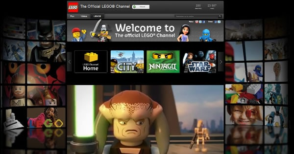 The Official LEGO® YouTube Channel